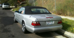 1993 Mercedes-Benz 300CE Cabriolet rear view