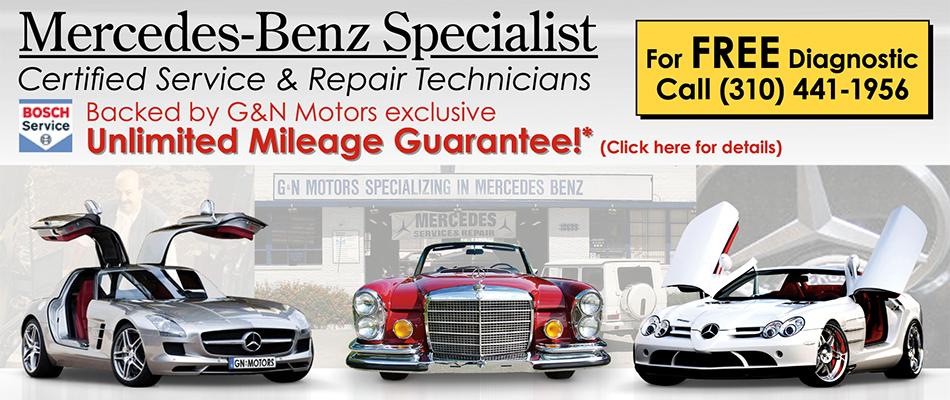 Mercedes benz service and repair shop g n motors built for Mercedes benz auto repair shop
