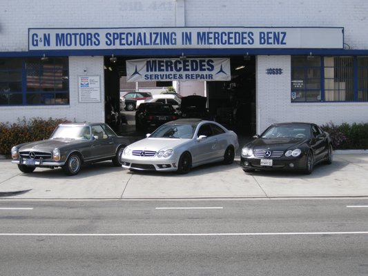 Discover a world class mercedes benz service and repair shop for Authorized mercedes benz mechanic