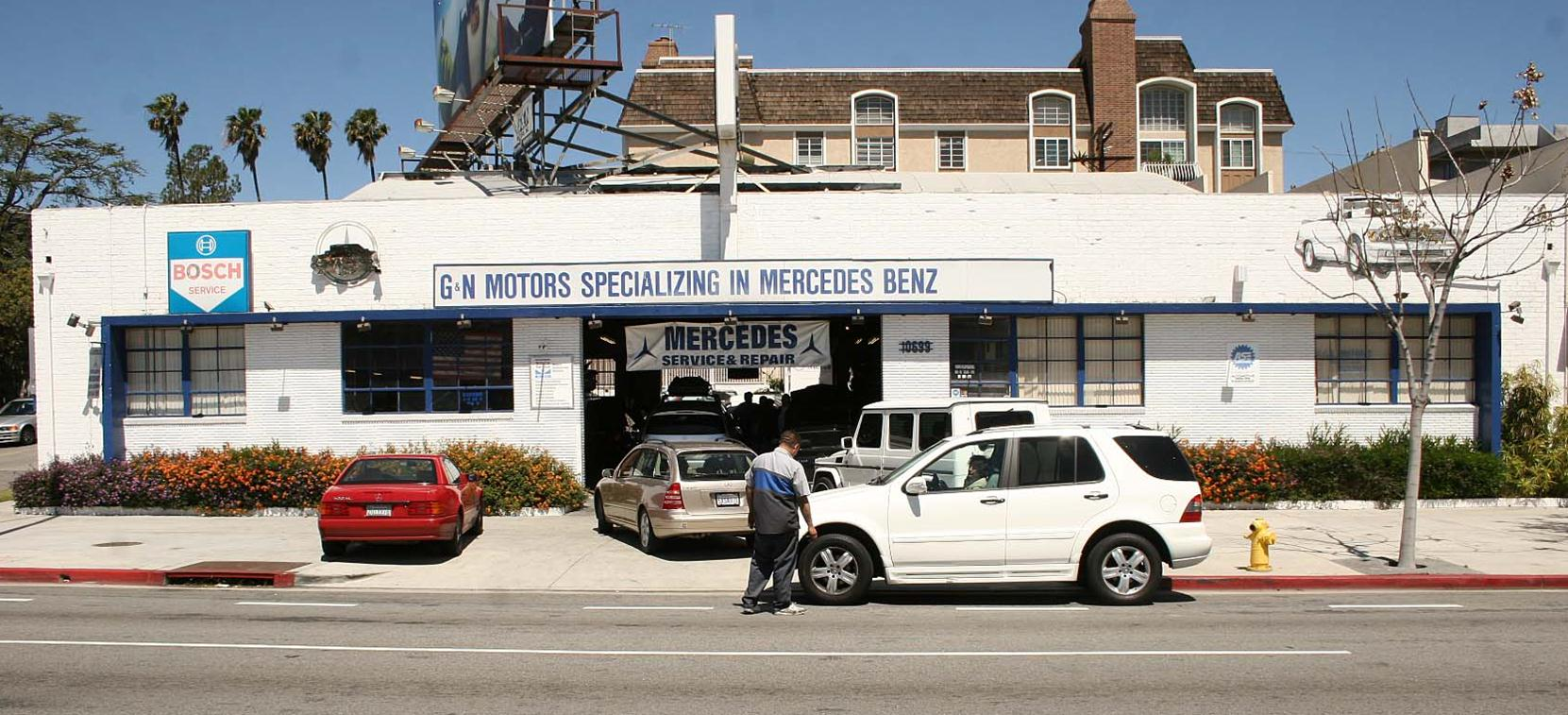 Mbz motors for Mercedes benz service los angeles