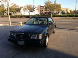 1994 Mercedes-Benz E320 Convertible front