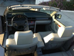 1994 Mercedes-Benz E320 Convertible interior