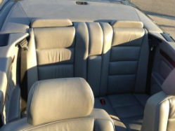 1994 Mercedes-Benz E320 Convertible rear interior