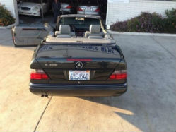1994 Mercedes-Benz E320 Convertible rear