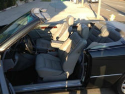 1994 Mercedes-Benz E320 Convertible side door