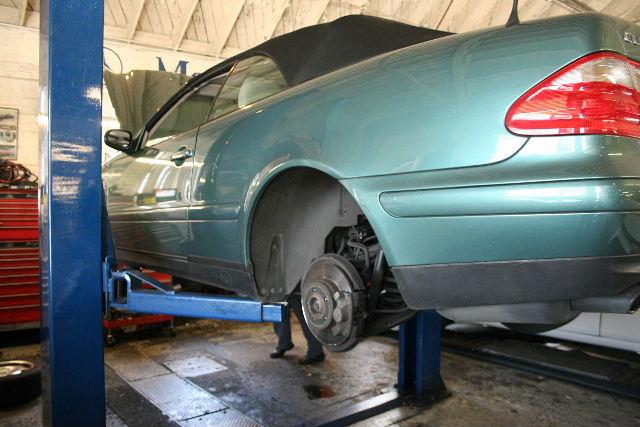 Mercedes-Benz SBC Brake System R61
